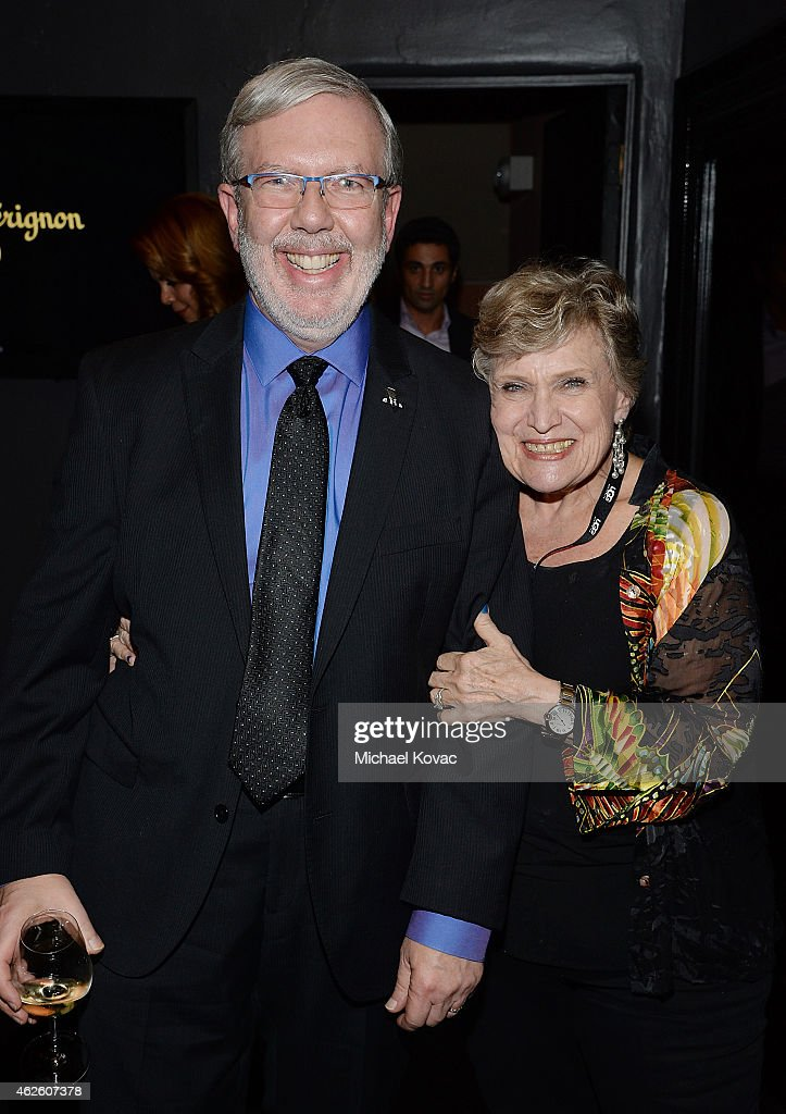 Film critic Leonard Maltin and Alice Maltin visit the Dom