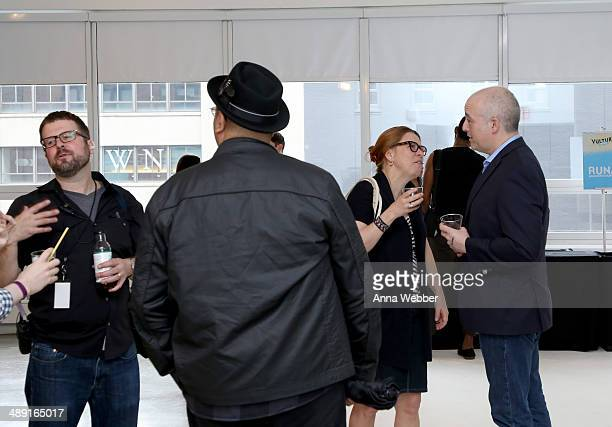 Film Critic Matt Zoller Seitz and guests attend Vulture Festival presented by New York Magazine at Milk Studios on May 10 2014 in New York City