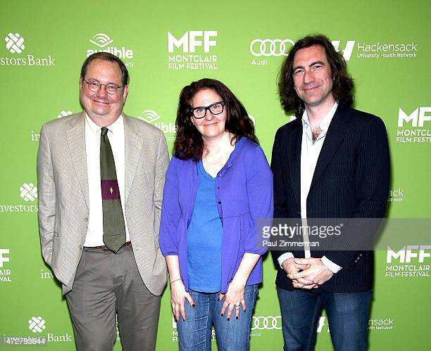Film critic Stephen Whitty writer Thelma Adams and film critic Eric Hynes attend the 2015 Montclair Film Festival Filmmaker Awards And Centerpiece...