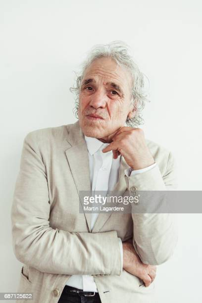 Film director Abel Ferrara is photographed on May 21 2017 in Cannes at Majestic Beach France