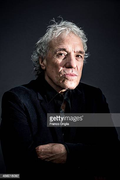 Film director Abel Ferrara is photographed on September 5 2014 in Venice Italy