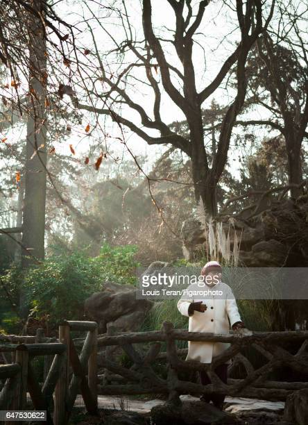 Film director Agnes Varda is photographed for Madame Figaro on January 26, 2017 in Parc Montsouris in Paris, France. PUBLISHED IMAGE. CREDIT MUST...