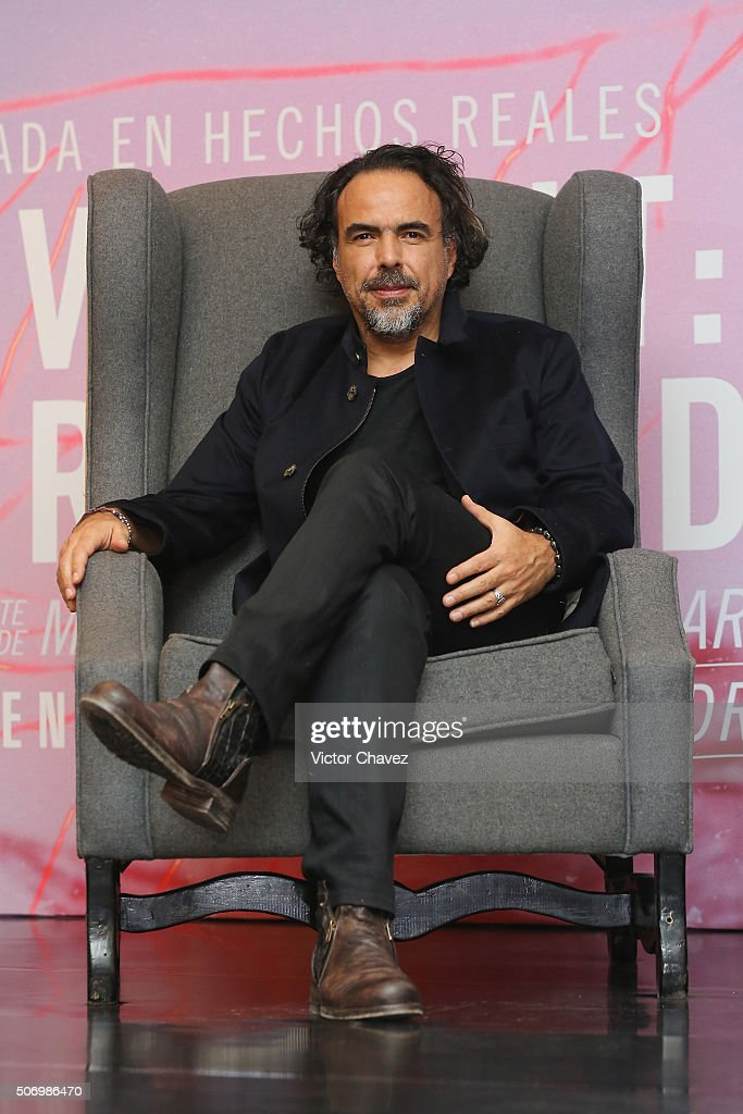 """""""The Revenant"""" Mexico City Press Conference"""