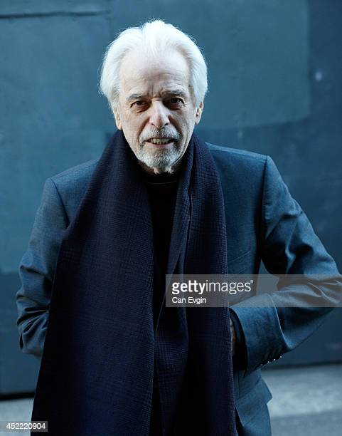 Film director Alejandro Jodorowsky is photographed for Dazed and Confused in London England