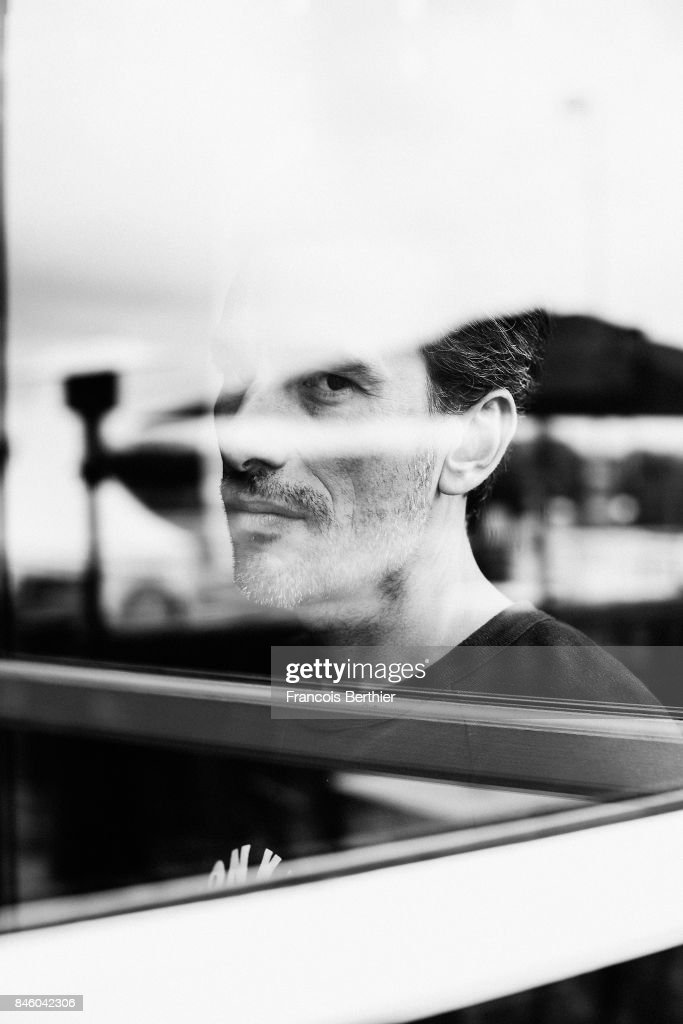 Film Director Alexandre Moors is photographed on September 4, 2017 in Deauville, France.