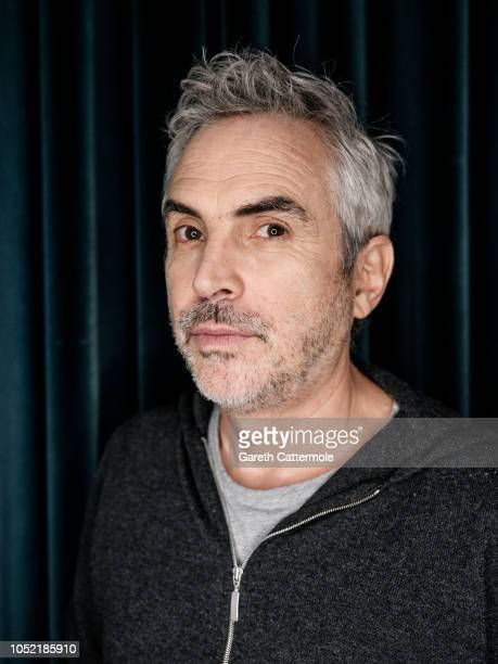 Film director Alfonso Cuaron is photographed at the BFI London Film Festival on October 15 2018 in London England