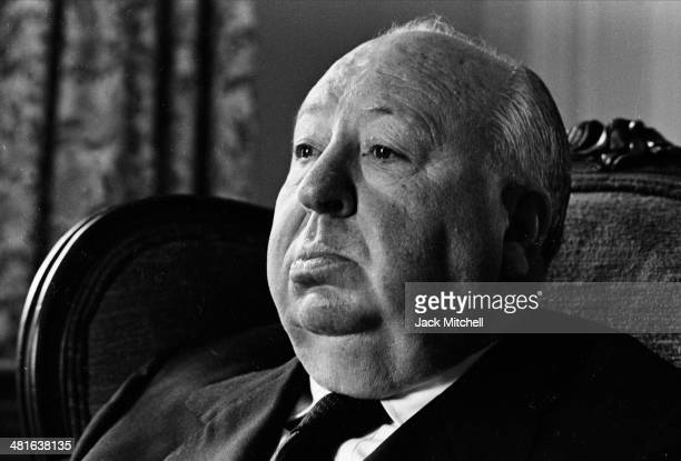 Film director Alfred Hitchcock photographed in New York City in 1972 the year he released 'Frenzy'