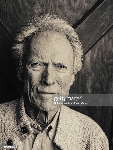Film director and actor Clint Eastwood is photographed for Paris Match at his ranch in Carmel United States on January 28 2020
