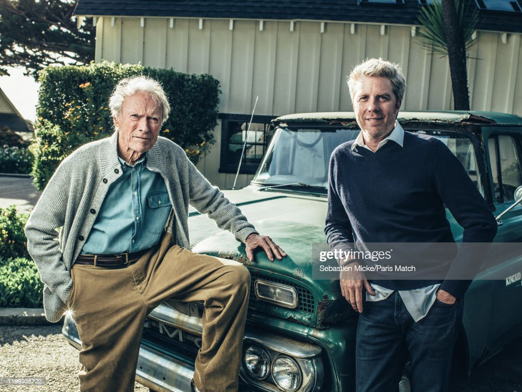 Clint Eastwood, Paris Match Issue 3692, February 12, 2020 : News Photo