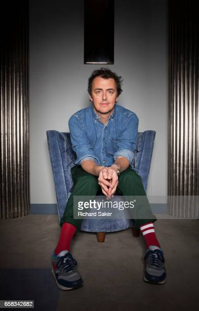 Film director and actor Garth Jennings is photographed for the Observer on January 20 2017 in London England