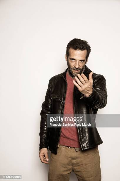 Film director and actor Mathieu Kassovitz is photographed for Paris Match on March 10 2020