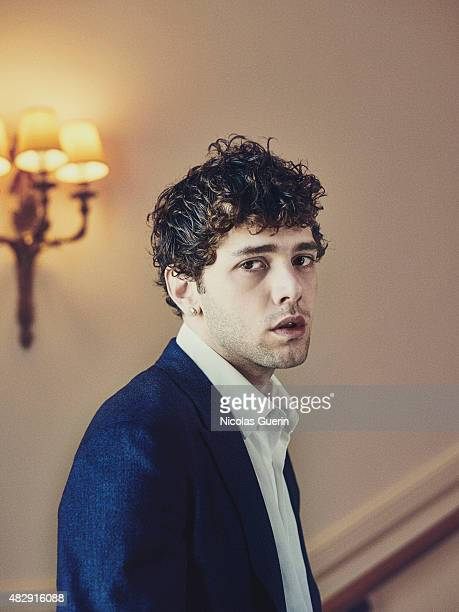 Film director and actor Xavier Dolan is photographed on May 22 2015 in Cannes France