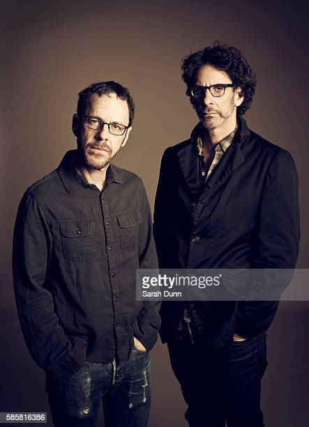 Film director and producer the Coen Brothers are photographed for Empire magazine on October 15 2013 in London England