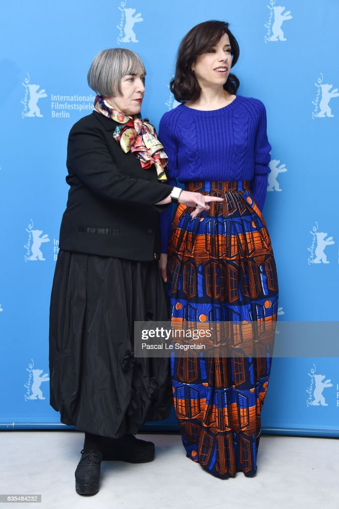 Film director and screenwriter Aisling Walsh (L) and actress Sally Hawkins attend the 'Maudie' photo call during the 67th Berlinale International Film Festival Berlin at Grand Hyatt Hotel on February 15, 2017 in Berlin, Germany.