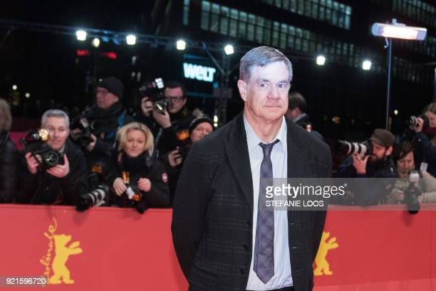 US film director and screenwriter Gus Van Sant poses on the red carpet for the premiere of his film 'Don't Worry He Won't Get Far on Foot' presented...