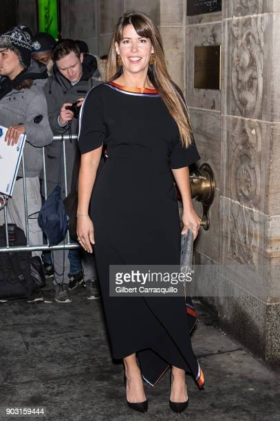 Film director and screenwriter Patty Jenkins is seen arriving at the 2018 National Board of Review Awards Gala at Cipriani 42nd Street on January 9...
