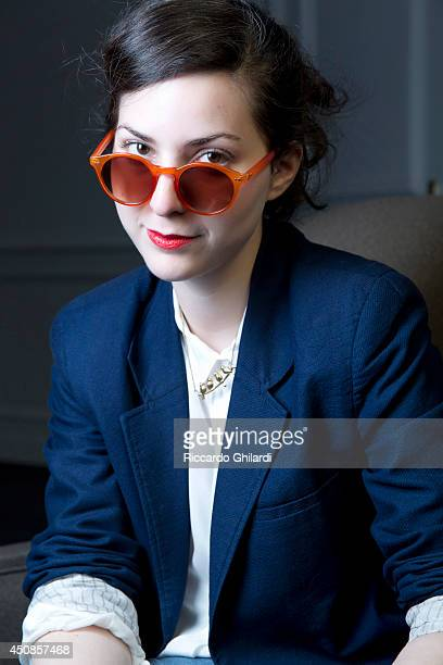 Film director and screenwriter Rebecca Zlotowski is photographed on April 3 2014 in Rome Italy