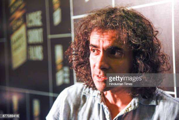 Film director and writer Imtiaz Ali in conversation with HT on November 18 2017 in Pune India