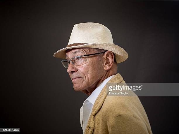 Film director Andrei Konchalovsky is photographed on September 6 2014 in Venice Italy