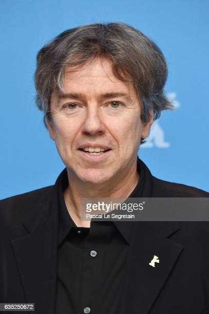 Film director Andres Veiel attends the 'Beuys' photo call during the 67th Berlinale International Film Festival Berlin at Grand Hyatt Hotel on...