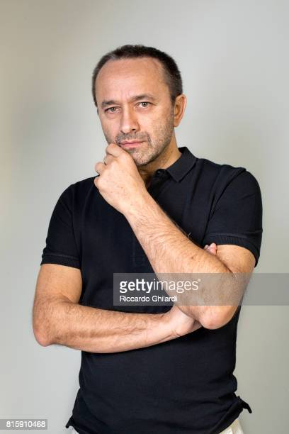 Film Director Andrey Zvyagintsev is photographed for Self Assignment on May 19 2017 in Cannes France