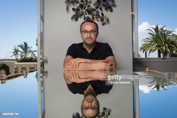Film director Andrey Zvyagintsev is photographed for the Hollywood Reporter on May 19 2017 in Cannes France