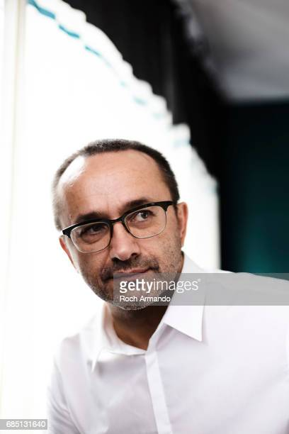 Film director Andrey Zvyagintsev is photographed on May 18 2017 in Cannes France
