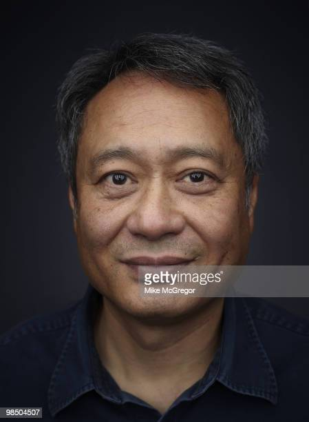 Film director Ang Lee at a portrait session in New York City on January 27 2010 for DGA Quarterly Magazine