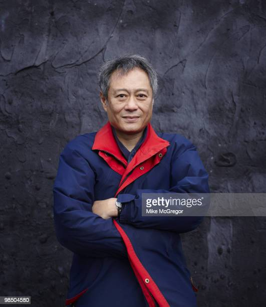 Film director Ang Lee at a portrait session in New York City on January 27 2010 for DGA Quarterly Magazine Cover image
