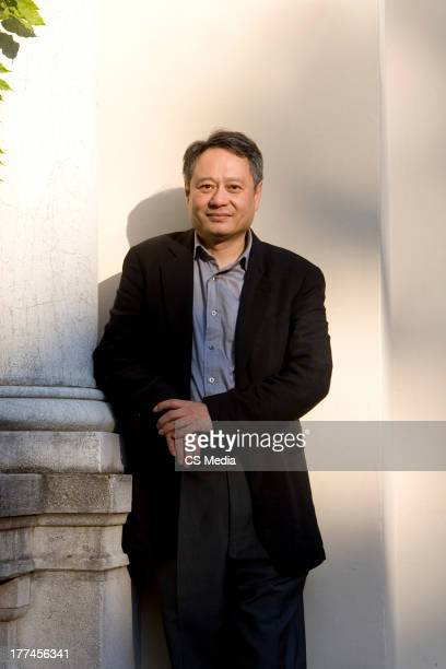 Film director Ang Lee is photographed on August 30 2007 in Venice Italy