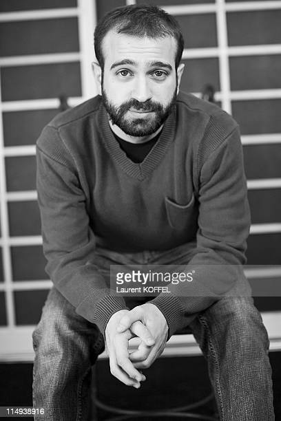 Film Director Antonio Campos attends the 'Martha Marcy May Marlene' photocall at the Palais des Festivals during 64th Cannes Film Festival on May 15...