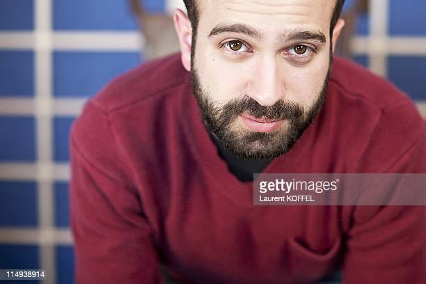 Film Director Antonio Campos poses during the photocall of attends the 'Martha Marcy May Marlene' photocall at the Palais des Festivals during 64th...