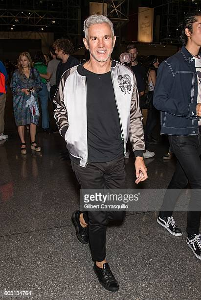 Film director Baz Luhrmann is seen arriving at Opening Ceremony fashion show during New York Fashion Week at Jacob Javits Center on September 11 2016...