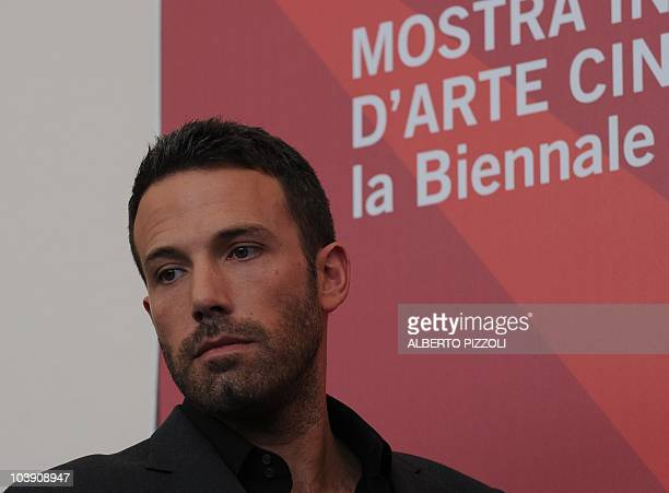 """Film director Ben Affleck poses during the photocall of """"The town"""" at the 67th Venice Film Festival on September 8, 2010 at Venice Lido. """"The town""""..."""