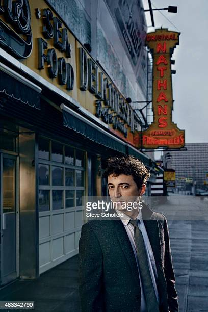 Film director Benh Zeitlin is photographed for Vogue magazine on March 31 2012 in New York City