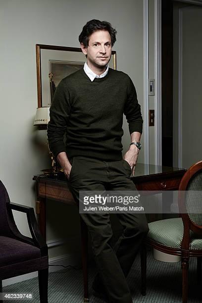Film director Bennett Miller is photographed for Paris Match on December 16 2014 in Paris France