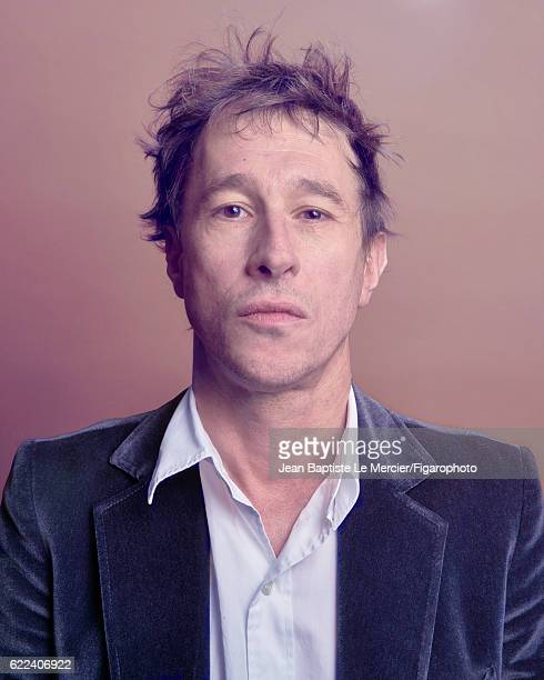 Film director Bertrand Bonello is photographed for Madame Figaro on September 8 2016 at the Toronto Film Festival in Toronto Canada CREDIT MUST READ...