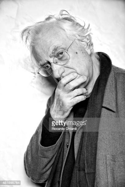 Film director Bertrand Tavernier is photographed on April 2 2014 in Rome Italy