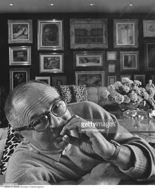 Film director Billy Wilder poses for a portrait January 20 1962 in Los Angeles CA Wilder is best known for the films 'The Lost Weekend' 'Sunset...