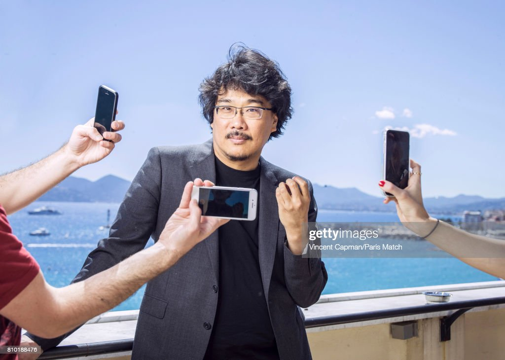Film director Bong Joon-ho is photographed for Paris Match on May 20, 2017 in Cannes, France.