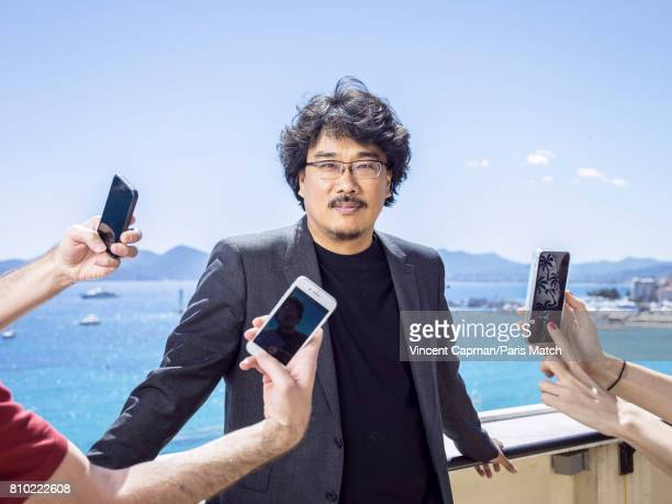 Film director Bong Joonho is photographed for Paris Match on May 20 2017 in Cannes France