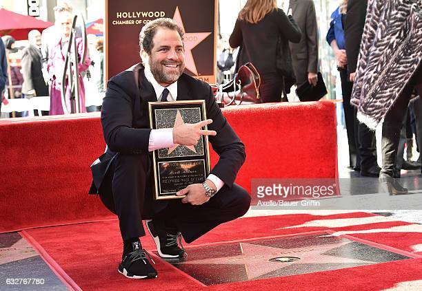 Film Director Brett Ratner attends the ceremony honoring him with a Star on the Hollywood Walk of Fame on January 19 2017 in Hollywood California