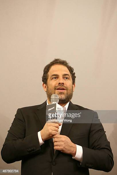 Film director Brett Ratner attends the Chinese Premiere of Hercules at the Wanda CBD on October 16, 2014 in Beijing, China.