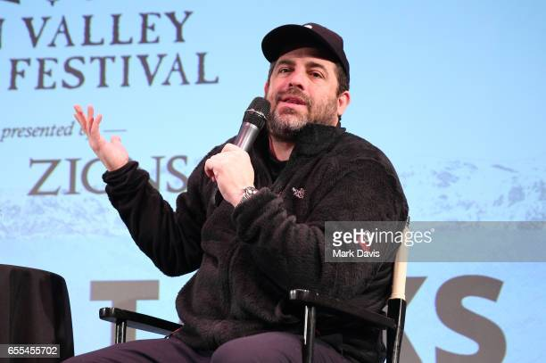Film director Brett Ratner speaks to the audience during the 2017 Sun Valley Film Festival on March 18 2017 in Sun Valley Idaho