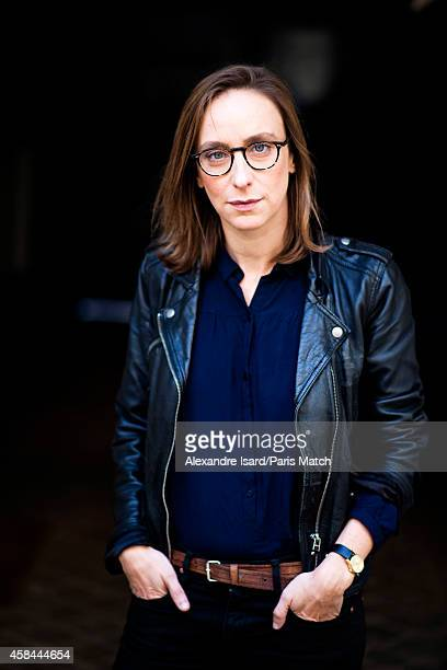 Film director Celine Sciamma is photographed for Paris Match on October 14 2014 in Paris France