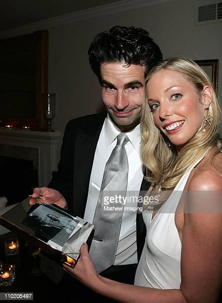 Film director Charlie Matthau son of Carol and Walter Matthau was wed tonight to Ashley Lauren Anderson former principal dancer for the American...