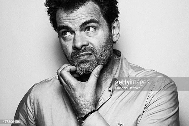 Film director Clovis Cornillac is photographed on May 6 2015 in Cannes France