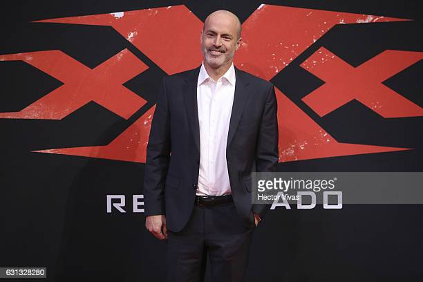 Film Director D J Caruso poses during the xXx Return of Xander Cage premiere and red carpet at Auditorio Nacional on January 05 2017 in Mexico City...