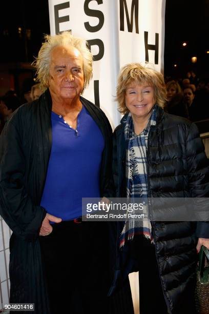 Film Director Daniele Thompson and her husband Producer Albert Koski attend the 'Pentagon Papers' Paris Premiere at Cinema UGC Normandie on January...