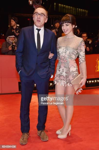 Film director Danny Boyle and actress Anjela Nedyalkova attend the 'T2 Trainspotting' premiere during the 67th Berlinale International Film Festival...